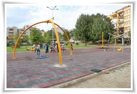 Güreş Alanı Parkı Yeniden Düzenlendi