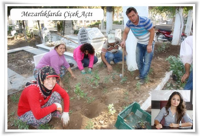 Mezarlıklarda Çiçek Açtı