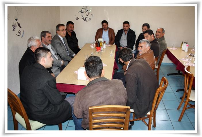Yeni Mahalle Esnafından Başkan Karaçoban'a Kahvaltı
