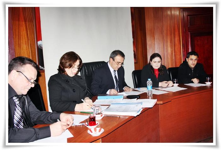 Alaşehir Belediye Meclisi 2013 Yılının İlk Toplantısını Yaptı