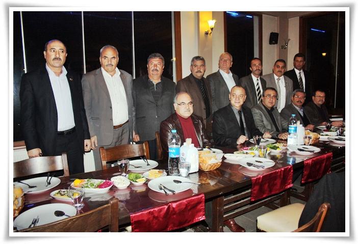 Manisa'nın MHP'li Belediye Başkanları Alaşehir'de Toplandı