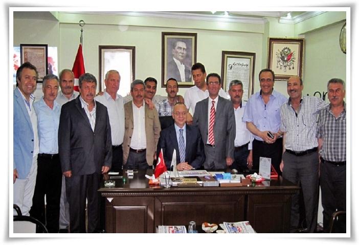 MHP'li Başkanlar Koldere'de Buluştu