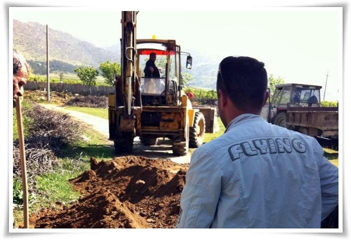 Belediye, Köylerde Yatırımlara Başladı