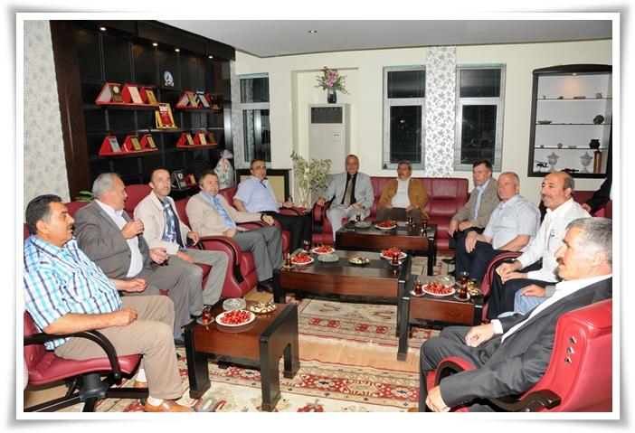 MHP'li Başkanlar Demirci'de Buluştu