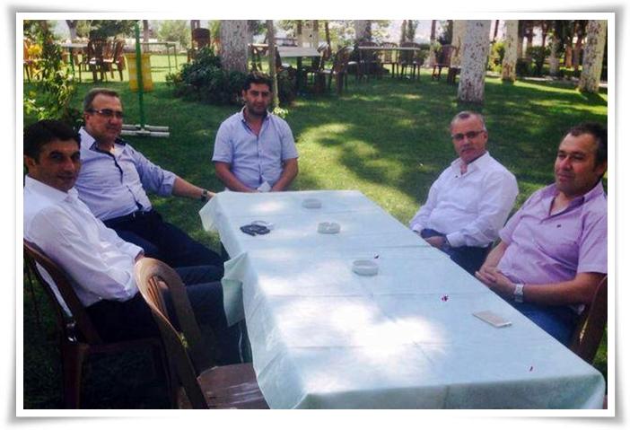 Karaçoban, Başkanları Ağırladı