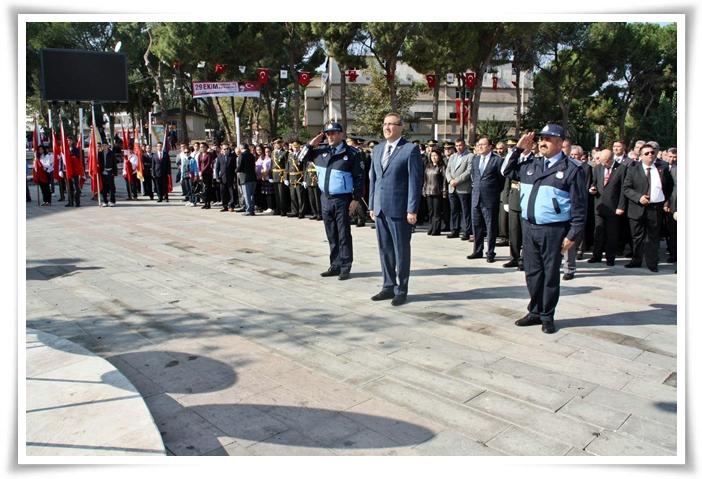 29 Ekim Cumhuriyet Bayramı Kutlama Töreni