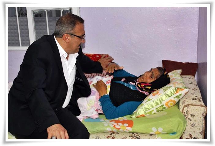 Karaçoban'dan Hasta Ziyareti