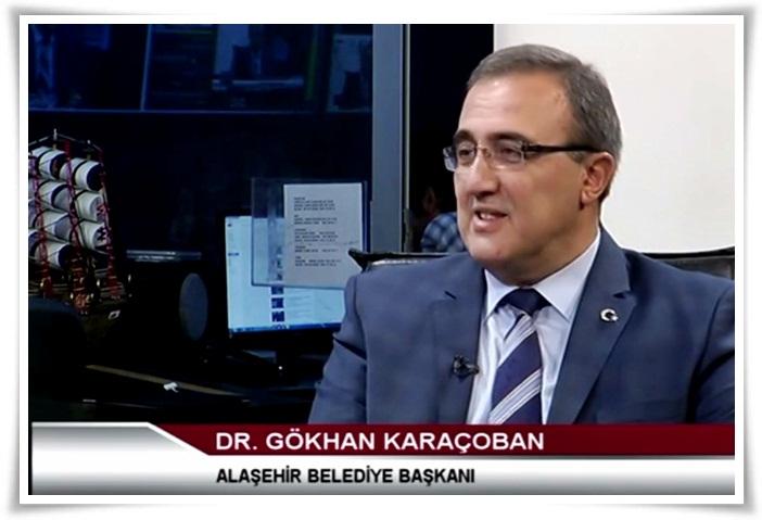 Karaçoban; Manisa Medya Tv'de Canlı Yayın Konuğu
