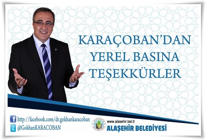 Karaçoban'dan Yerel Basın'a Teşekkürler