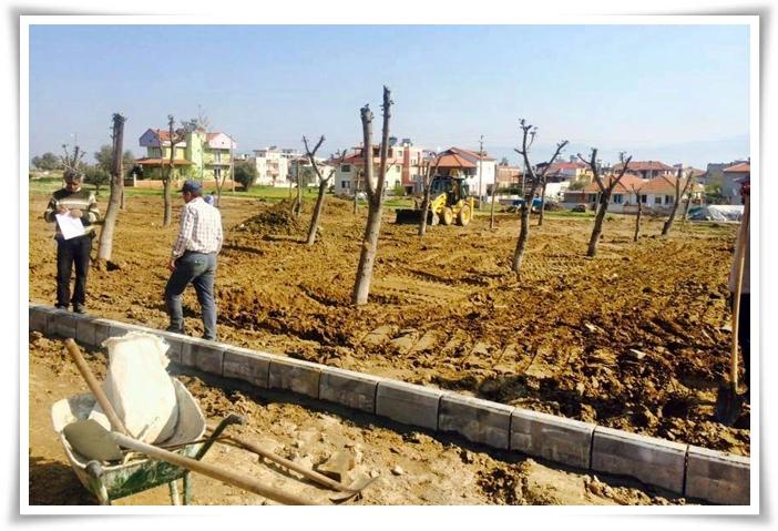 Hacıbey Mahallemizdeki Engelsiz Parkı Çalışmalarımız