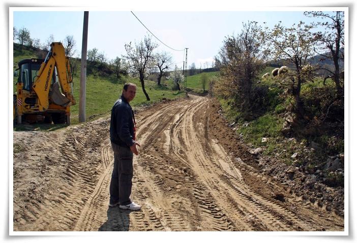 Örencik Mahallemiz Yol İyileştirme Çalışmaları